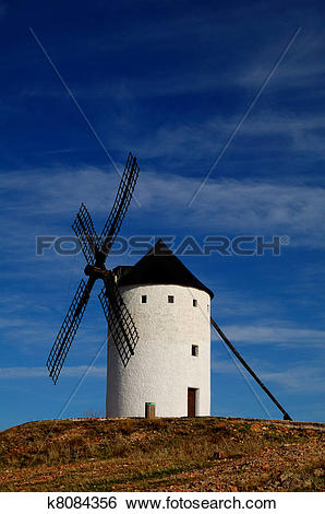 Stock Images of Historical Spanish windmill k8084356.