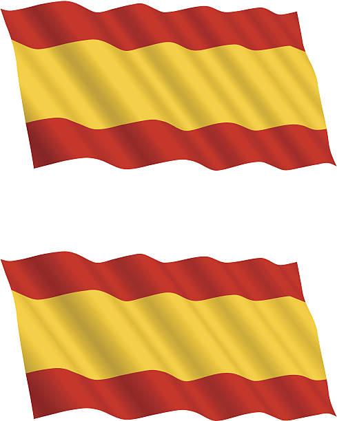 Spanish Flag Clip Art, Vector Images & Illustrations.