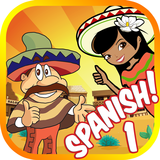 Learn Spanish Words 1: Vocabulary Flash Cards Game for Beginners.