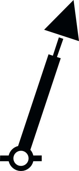 Nchart Symbol Int Spar Green Conicaltm clip art Free vector in.