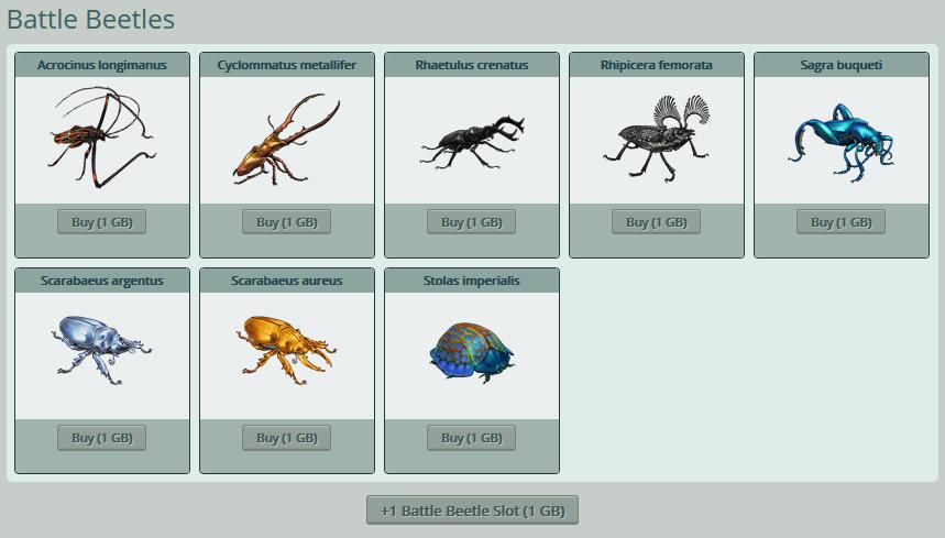 Battle Beetles.