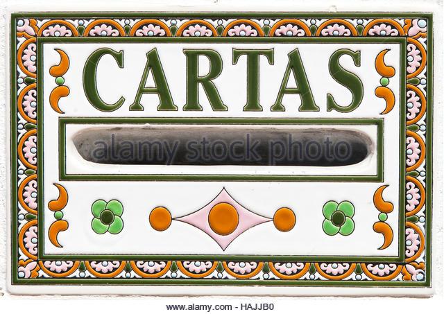 Spanish Letter Box Stock Photos & Spanish Letter Box Stock Images.
