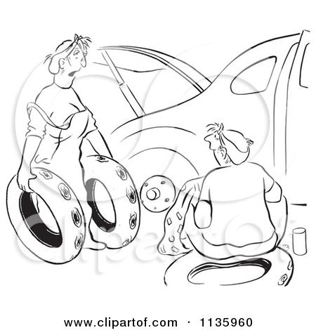 Spare Tire Clipart.