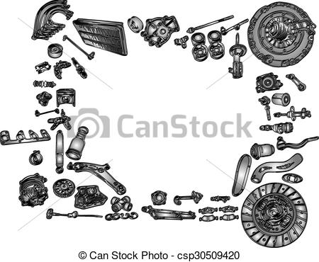 Spare parts Clipart and Stock Illustrations. 2,441 Spare parts.