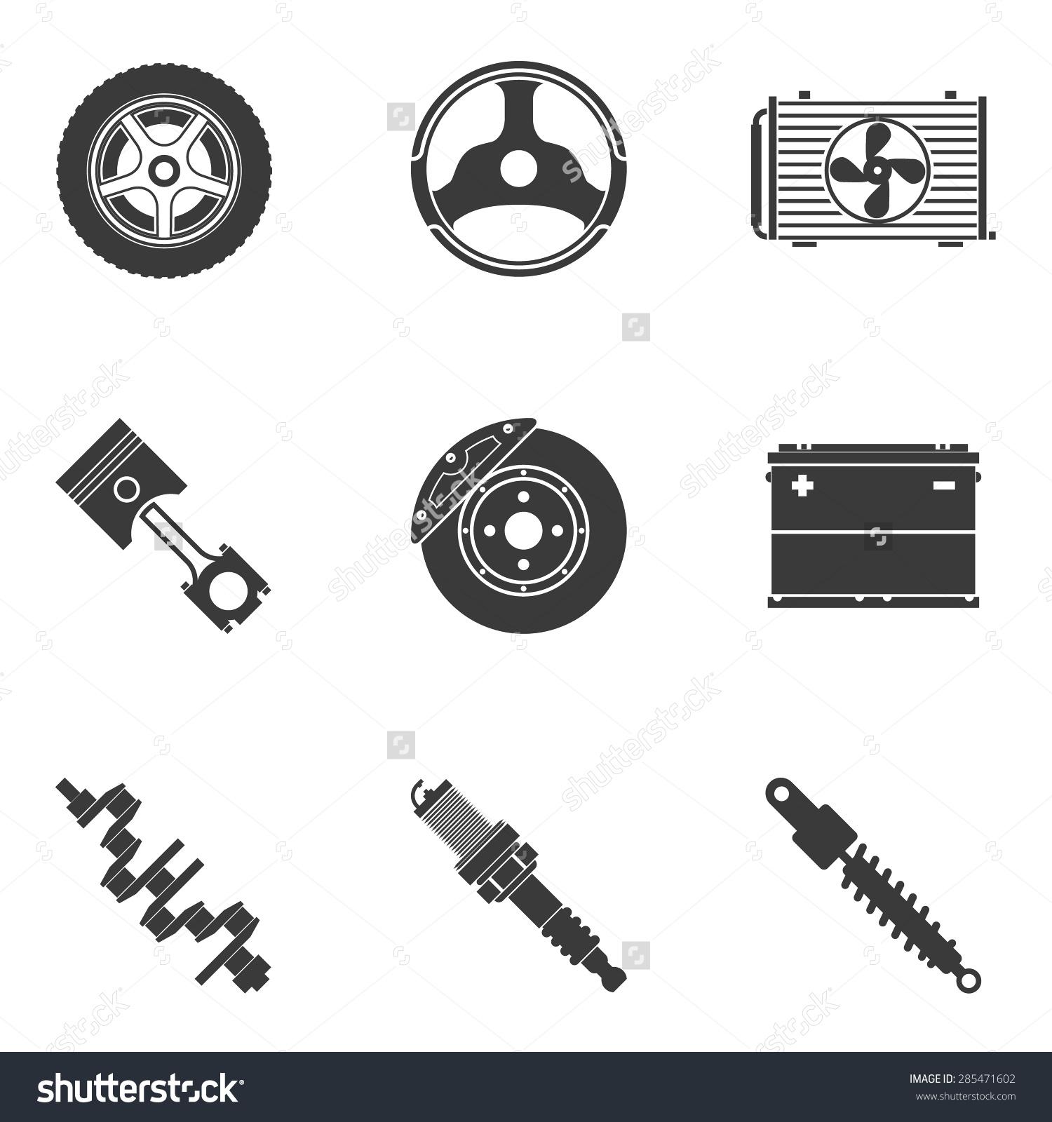 Spare Wheel Stock Vectors & Vector Clip Art.