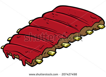 Bbq Spare Ribs Stock Vectors, Images & Vector Art.