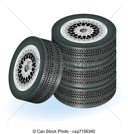 Spare wheel Vector Clipart Illustrations. 875 Spare wheel clip art.