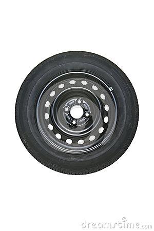 Spare Tire Stock Photo.