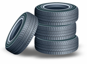 Clip Art Stack Of Tires Clipart.
