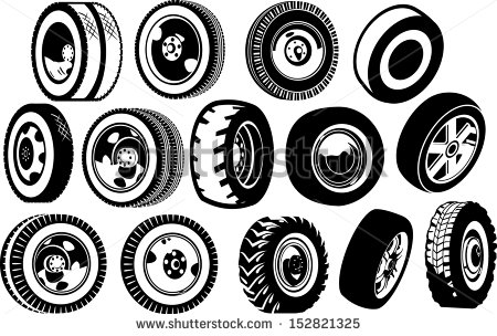 Spare Wheel Stock Vectors & Vector Clip Art.