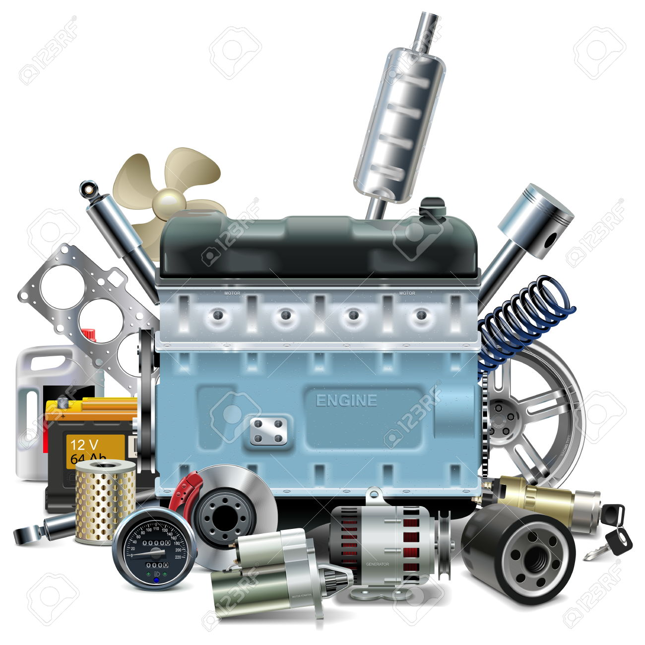 13,264 Car Parts Stock Illustrations, Cliparts And Royalty Free.