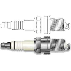 Spark Plug clipart, cliparts of Spark Plug free download (wmf, eps.