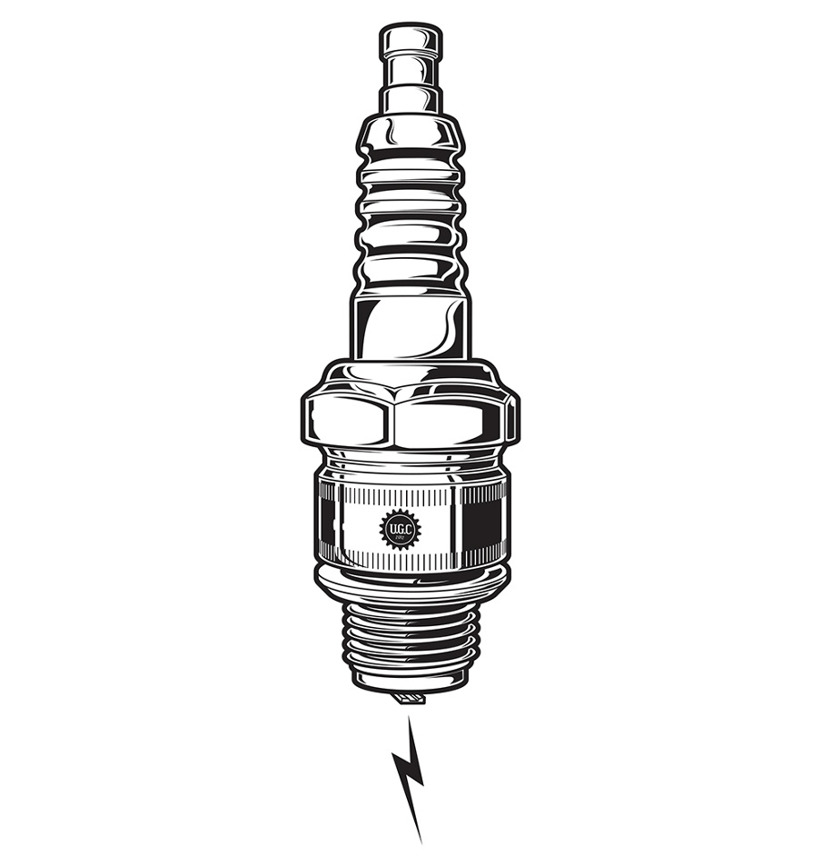 Spark Plug Clipart.
