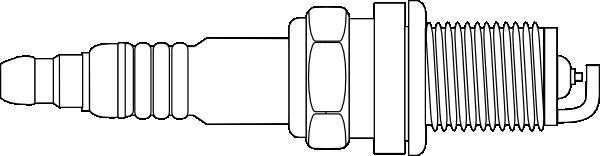 Spark Plug clip art Free Vector / 4Vector.