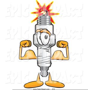 Free Spark Plug Clipart.