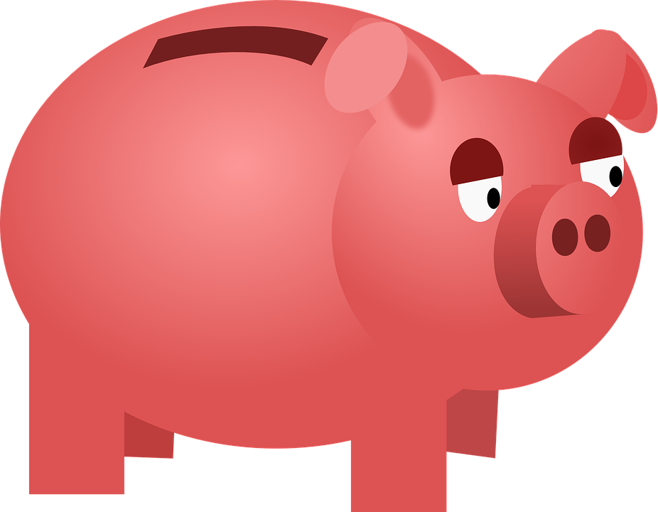 Free vector graphic: Savings Box, Money, Pig, Pink.