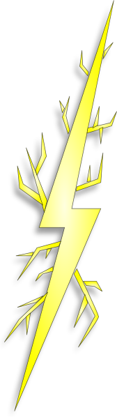 Electric Spark clip art Free Vector / 4Vector.
