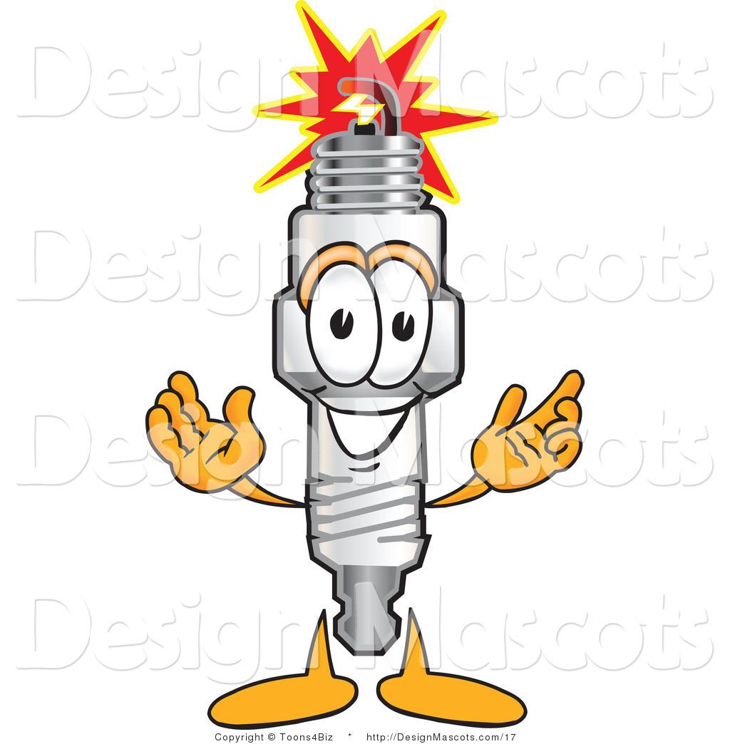 Free clipart spark plug.