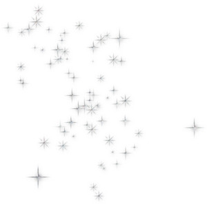 Magic sparkles clipart.