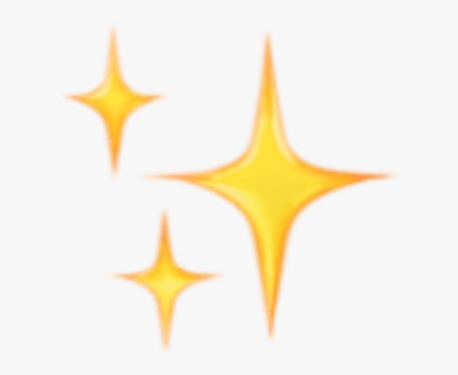 Transparent Glitter Emoji Png.