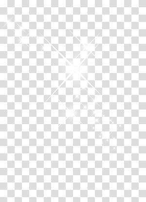Brillos, white sparkles illustration transparent background.