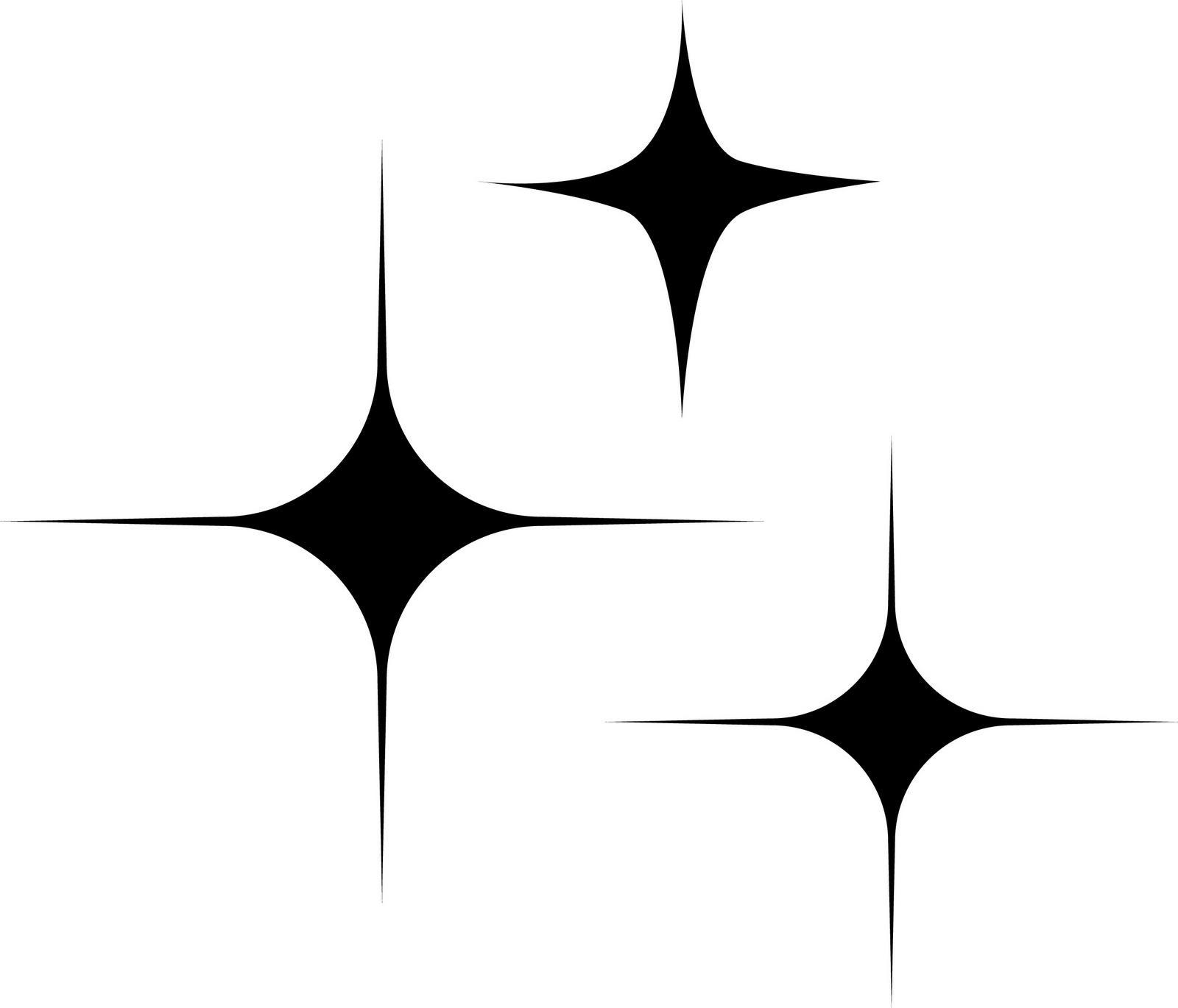 HD Sparkle Star Clip Art Design » Free Vector Art, Images.
