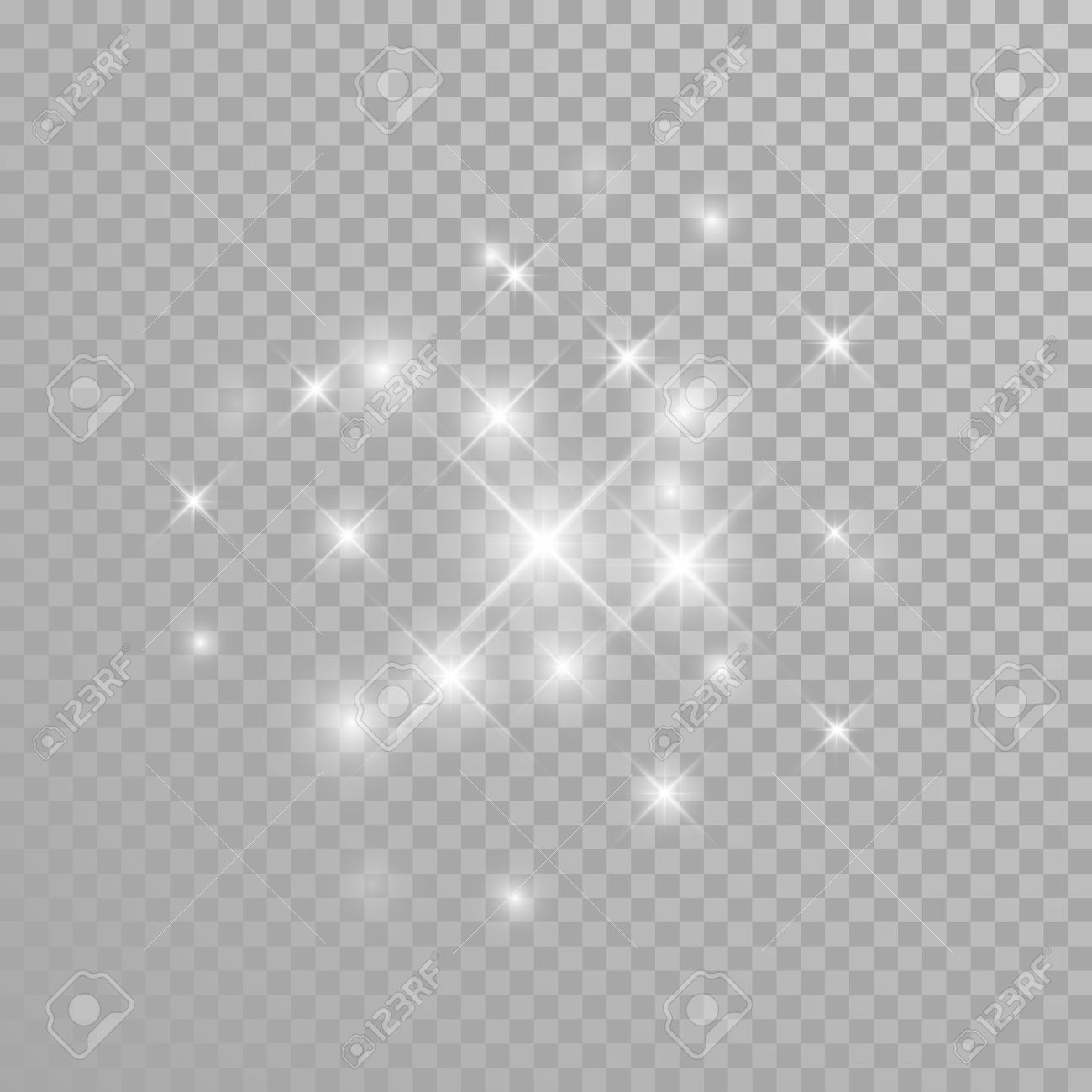 Sparkle Clipart Transparent Background.