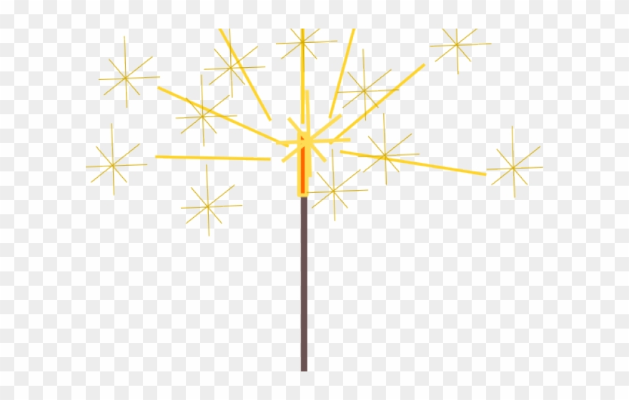 Sparklers Clipart New Year\'s.