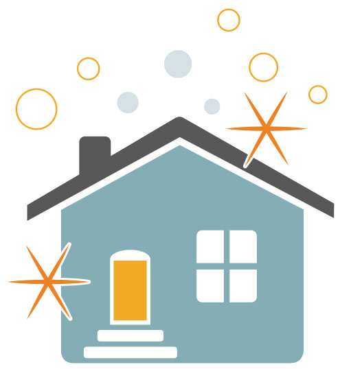 sparkling clean house clipart - Clipground