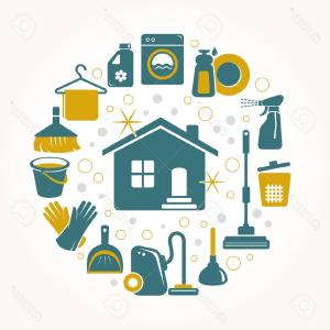 Top Sparkling Clean House Clipart Picture.