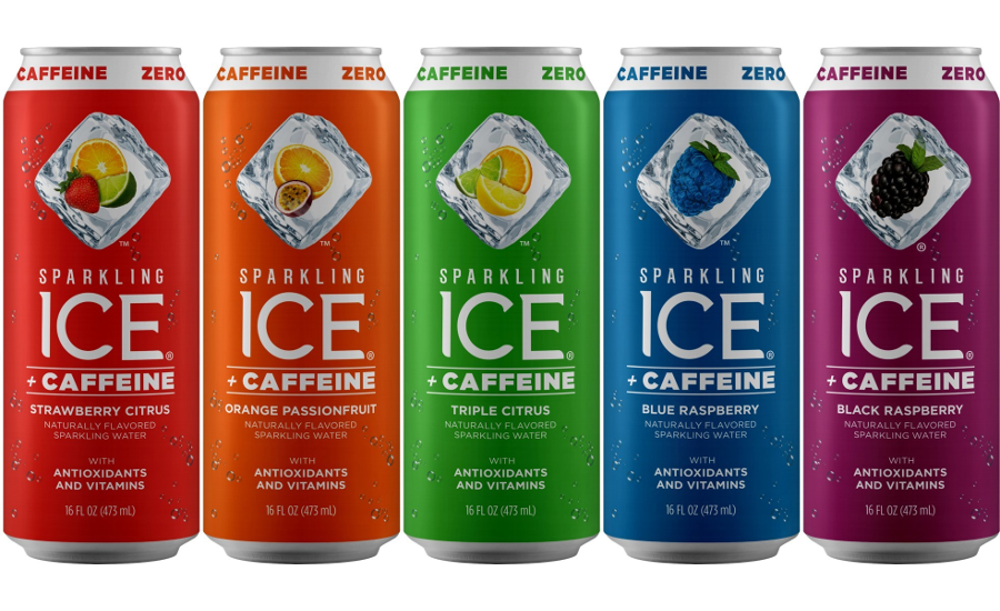 Sparkling Ice debuts caffeinated line.