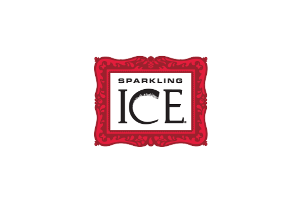Sparkling ice feature logo.