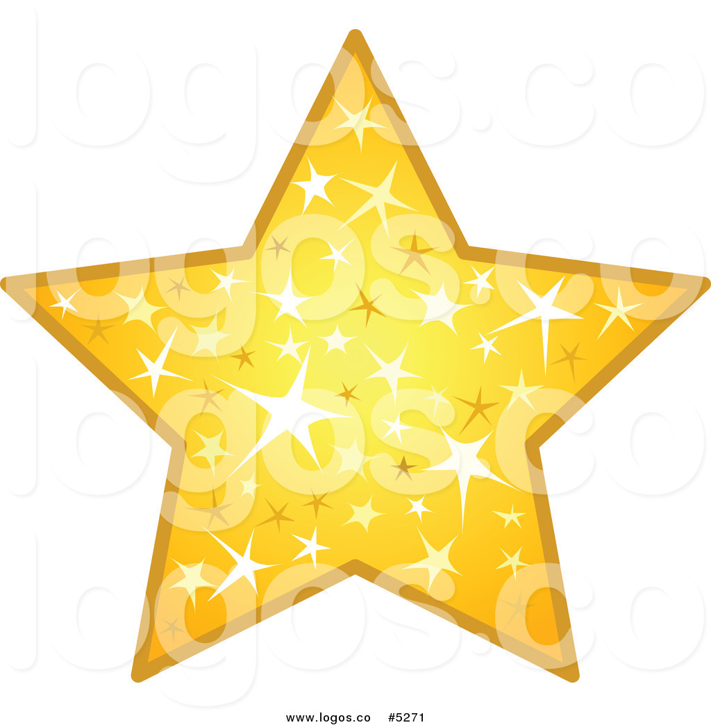 Sparkling Stars Clipart.