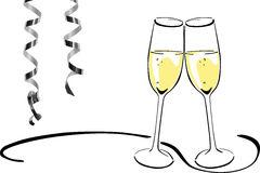Sparkling Wine Glasses.