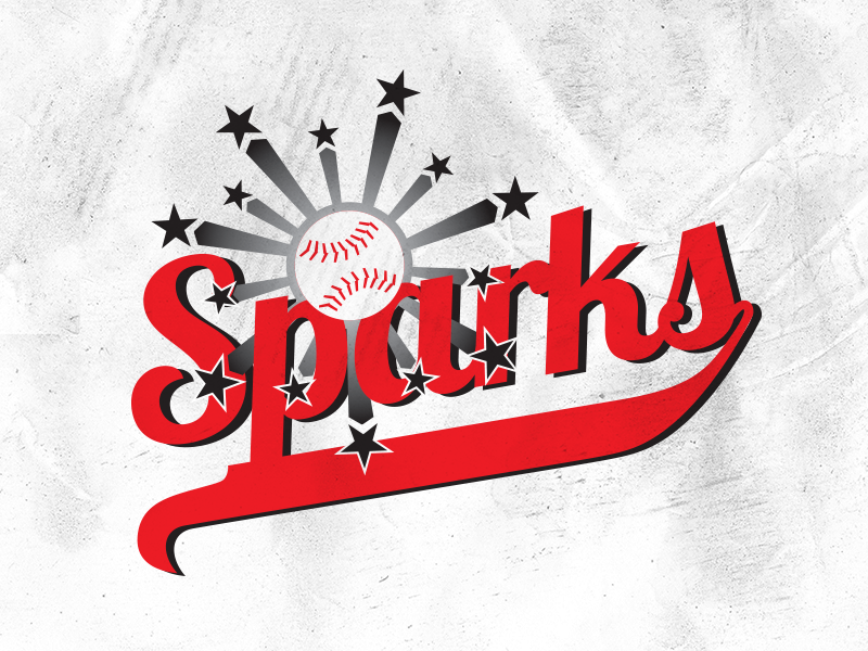 Sparks Team Logo by Southern Cross Creative on Dribbble.