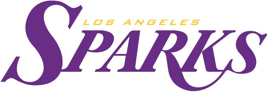 Los Angeles Sparks Wordmark Logo.