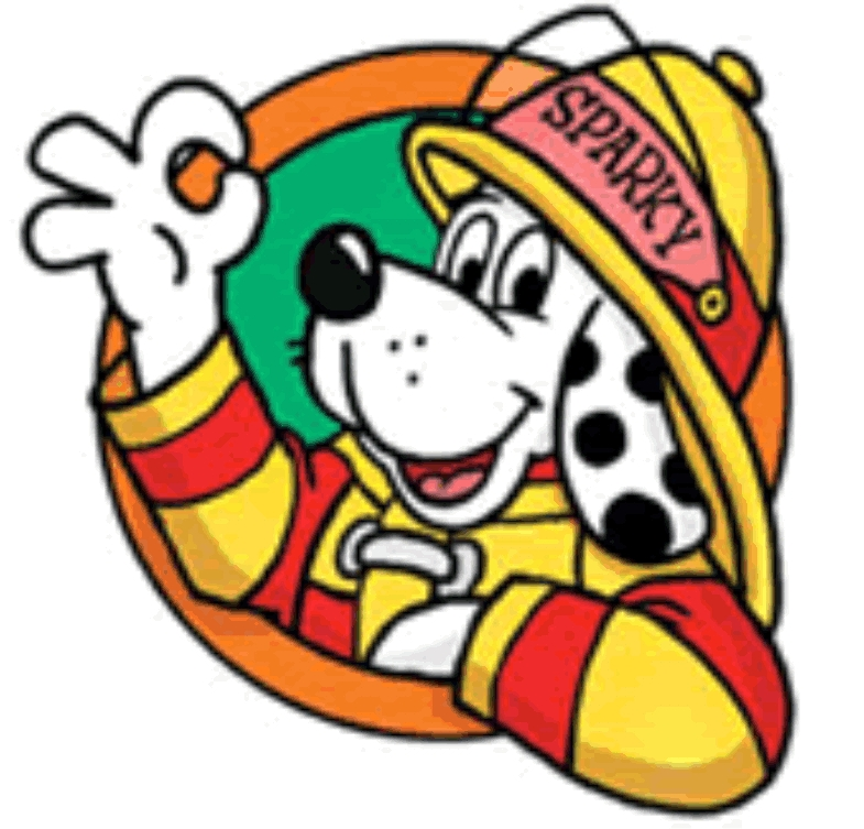 Sparky The Fire Dog free image.