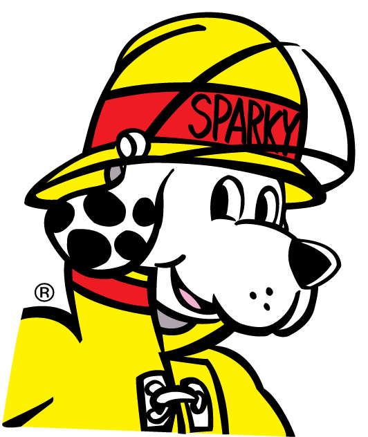 Learning About Fire Safety is Fun With Sparky the Firedog.