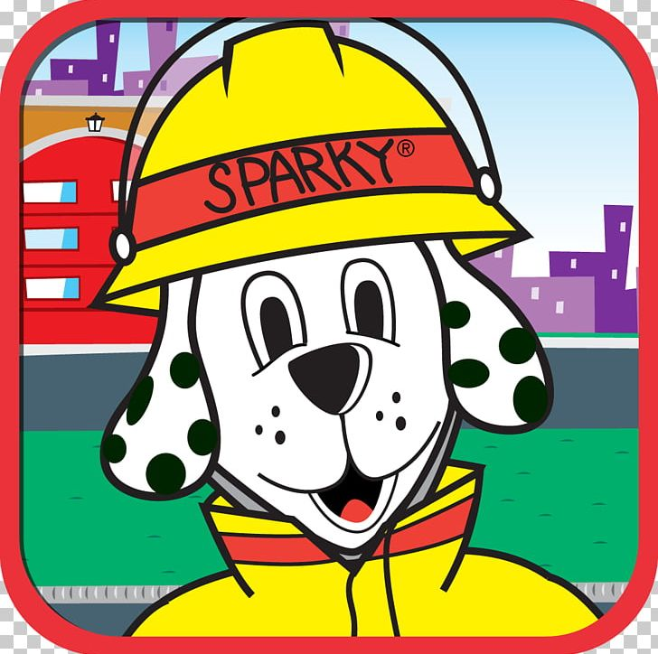 Dalmatian Dog Fire Department Fire Prevention Fire Safety.