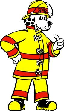 Fire Safty with Sparky the Fire Dog: fun informational.