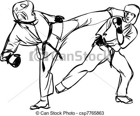 Sparring Vector Clipart Illustrations. 566 Sparring clip art.