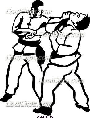 Sparring Clipart.