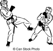 Sparring Vector Clipart Illustrations. 494 Sparring clip art.