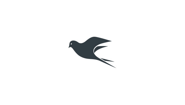 Black Sparrow logo.