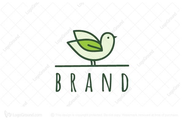 Exclusive Logo 137472, Nature Sparrow Logo.