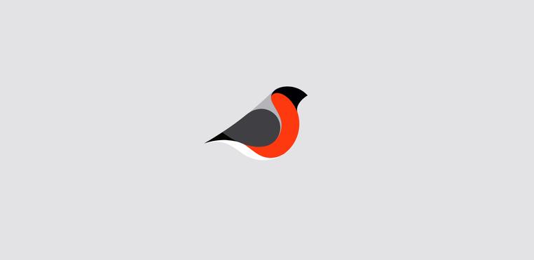 36 Creative,Catchy Sparrow Bird Logos.