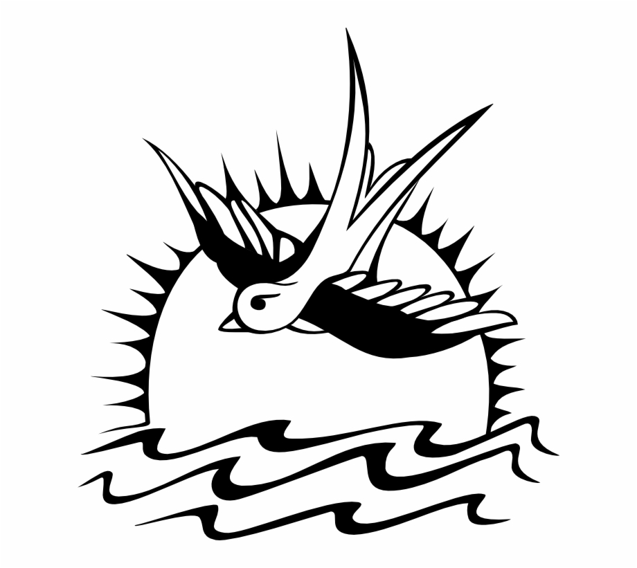 And Tattoo Caribbean Pirates Sparrow Of Tribal Clipart.