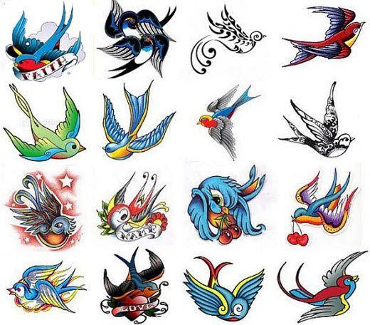 swallow Tattoo designs.