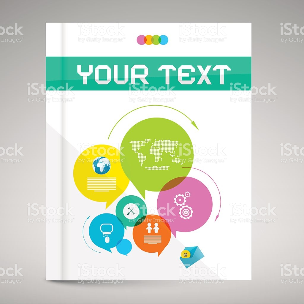 Modern Paper Brochure And Book Layout Cover stock vector art.