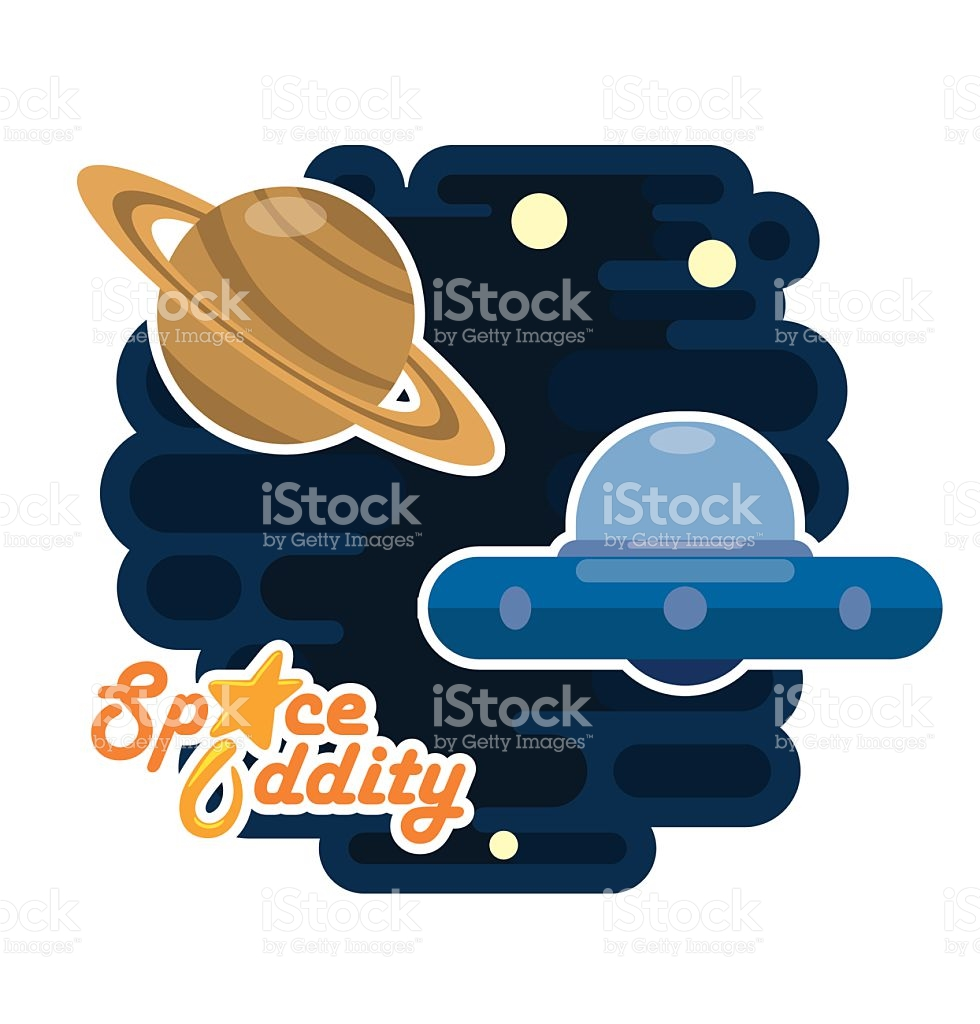 Space Cover Saturn stock vector art 482763536.